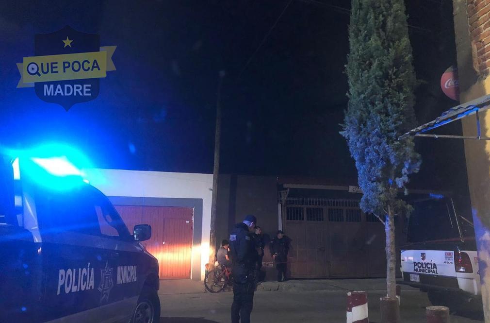 Hombre es ejecutado a tiros en su domicilio en Aguascalientes.