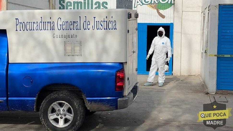 Encuentran a un hombre muerto en estado de putrefacción en una bodega de Irapuato.