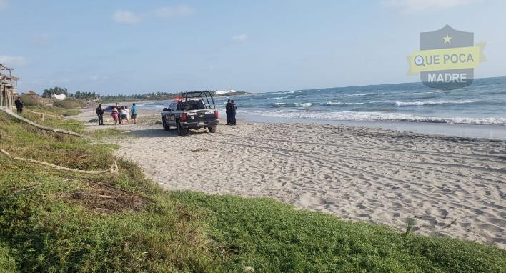 Encuentran a un hombre ahogado en playas de Elota.