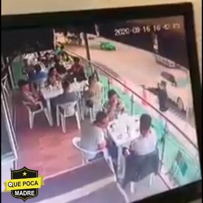 Asesinan a comensal en León.