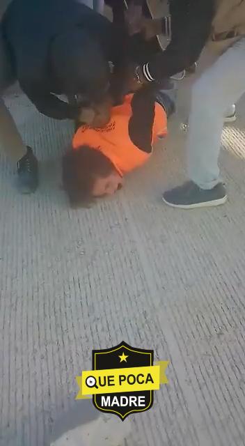 Capturan a ladrón y suplica que lo suelten