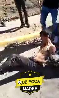 Golpean a ladrón en Guadalajara