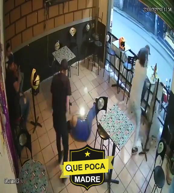 Así fue el ataque en un bar de Morelos